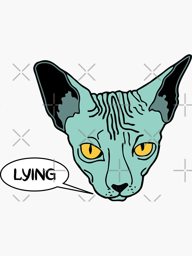 Lying Cat by chanzds