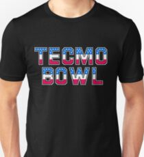 Tecmo Bowl - NES Title Screen Unisex T-Shirt