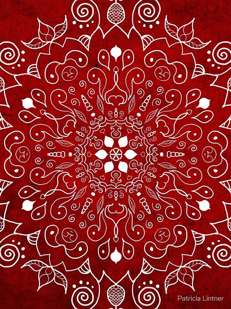 Mandala Vivid Red by plintner