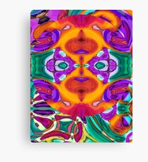 Apophenia Colorful Abstract Lowbrow Art Design Canvas Print