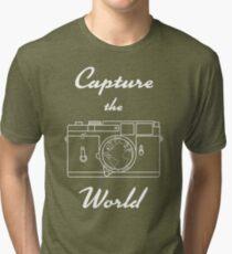 Capture the World Tri-blend T-Shirt
