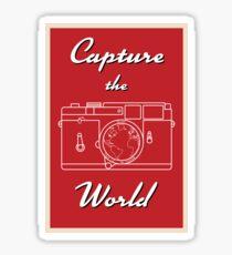 Capture the World Sticker