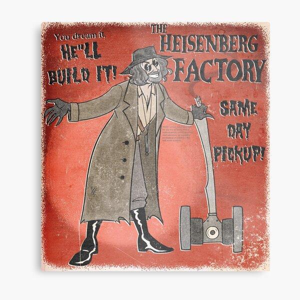 Heisenberg Factory Metal Print
