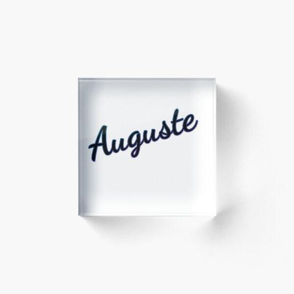 Auguste Acrylic Block
