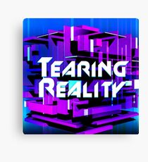 Tearing Reality Canvas Print