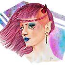 Demoniac 80s by JudithzzYuko