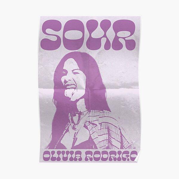 Olivia Rodrigo SOUR Poster