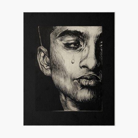 Horatio Alone Art Board Print