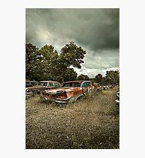 Abandoned Edsel Photographic Print