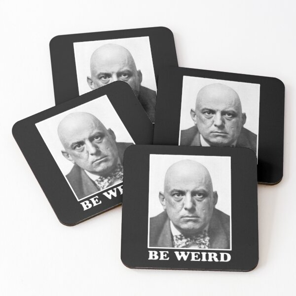 Be Weird Coasters (Set of 4)