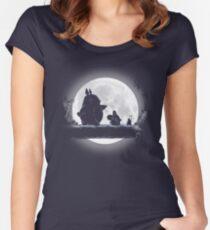 Camiseta entallada de cuello redondo Hakuna Totoro
