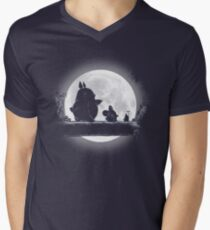 Hakuna Totoro T-shirt col V homme