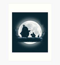 Hakuna Totoro Kunstdruck