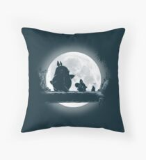 Hakuna Totoro Throw Pillow