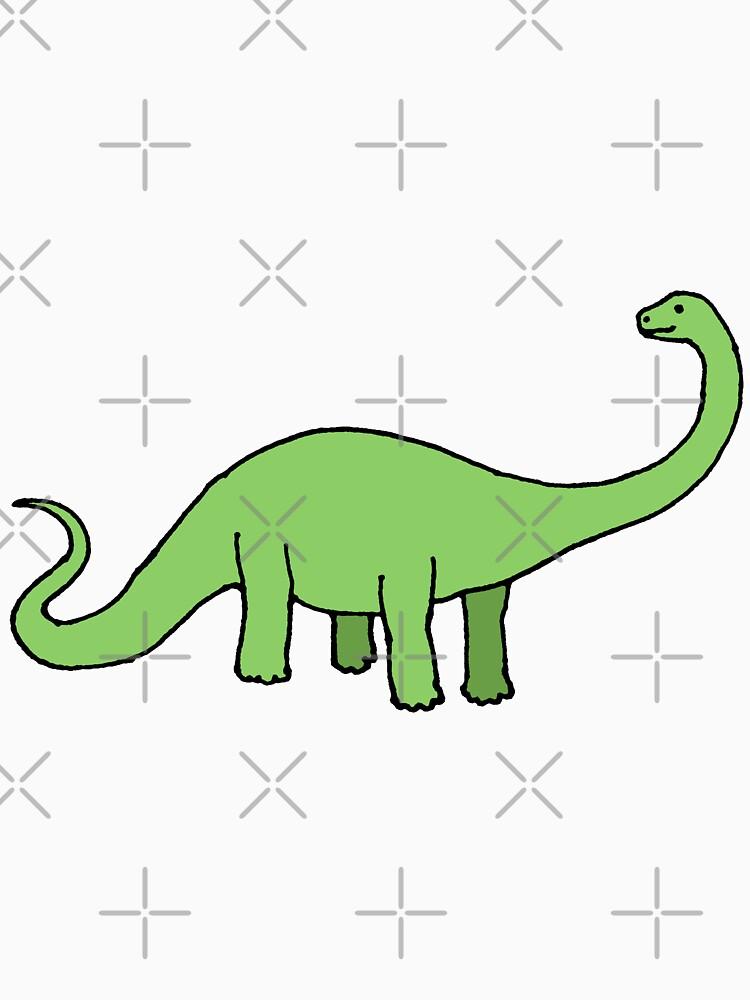 Happy Diplodocus - dinosaur design by Cecca Designs by Cecca-Designs