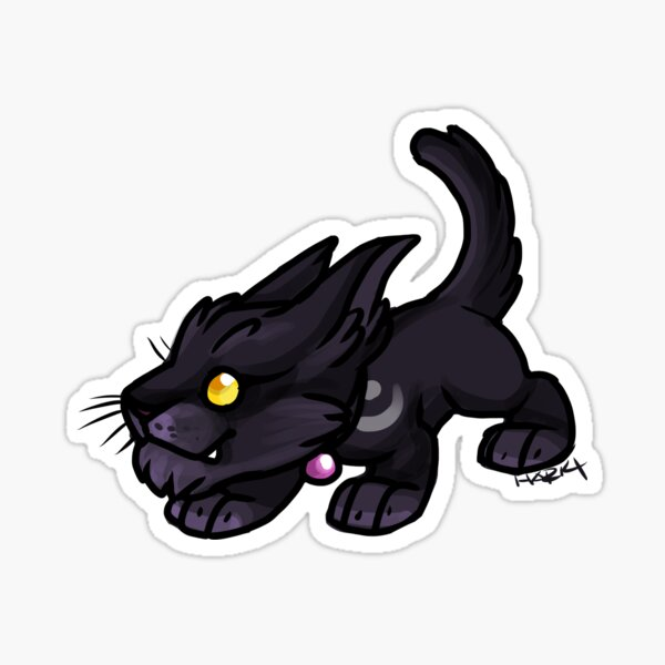 Druid Cuties - Cat Sticker