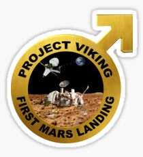 Viking Landing Team Logo Sticker