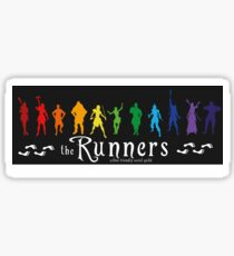 The Runners Sticker