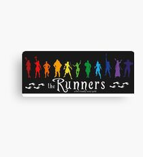 The Runners Canvas Print