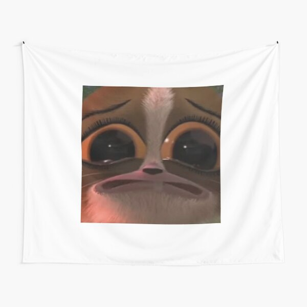 mort crying Tapestry