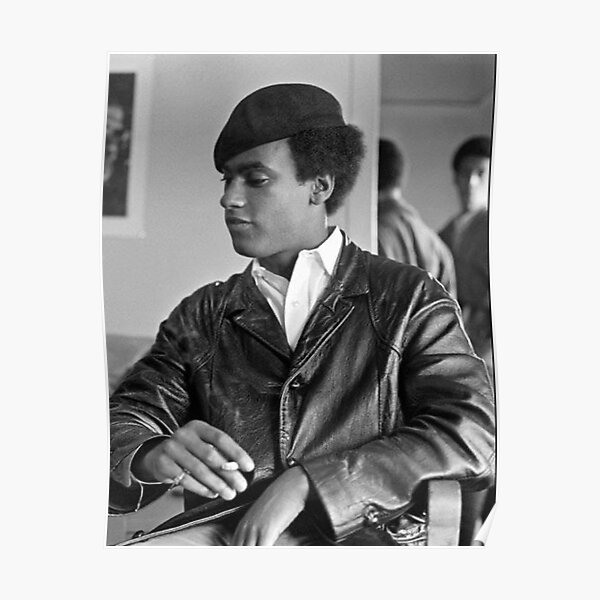 Huey P. Newton and the Black Panther Party Poster