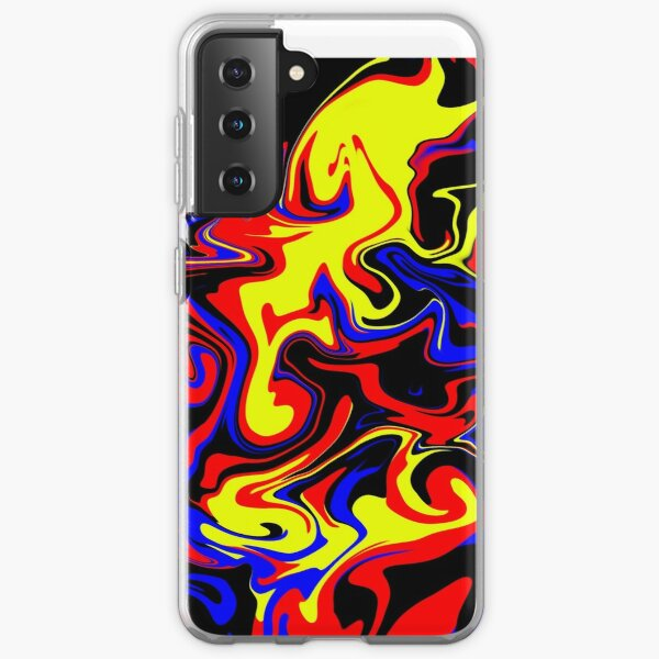 polyamorous swirl Samsung Galaxy Soft Case