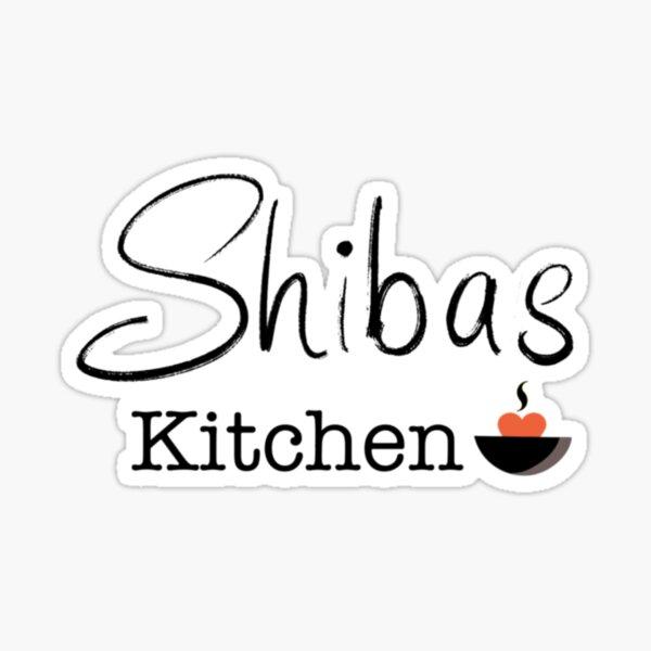 Shiba's Kitchen Sticker