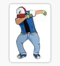 Ash Ketchum Dab Sticker