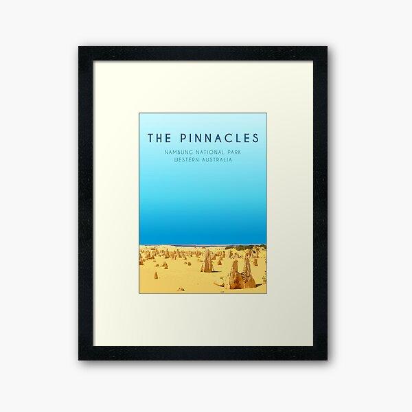 The Pinnacles, WA Framed Art Print
