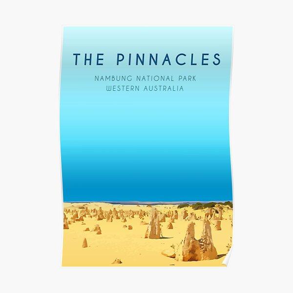 The Pinnacles, WA Poster