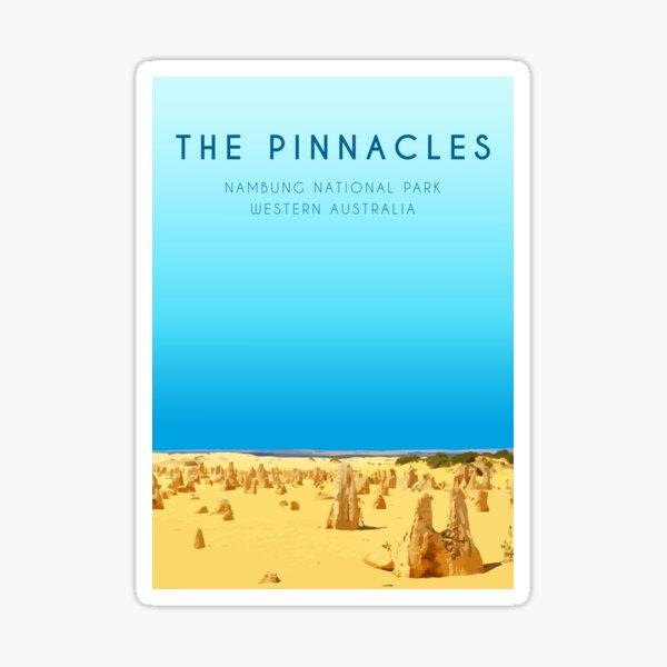 The Pinnacles, WA Sticker