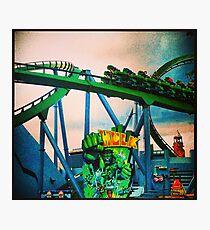 Hulk Coaster Photographic Print