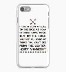 As Close to the Edge iPhone Case/Skin