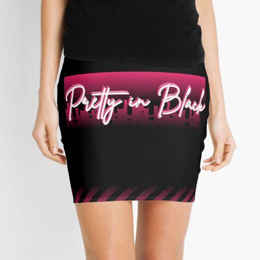 Pretty in Black Mini Skirt