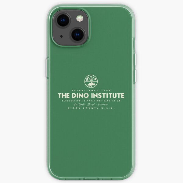 The Dino Institute - Theme Park Series iPhone Soft Case