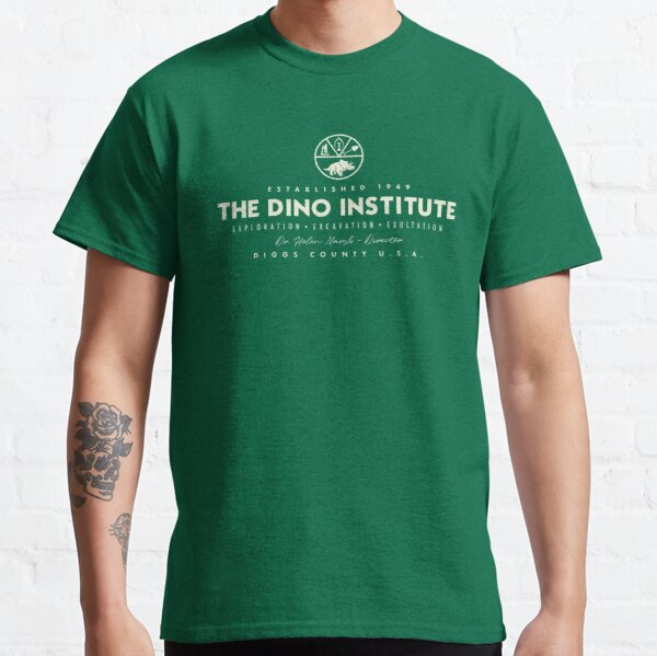 The Dino Institute - Theme Park Series Classic T-Shirt