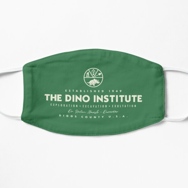 The Dino Institute - Theme Park Series Flat Mask