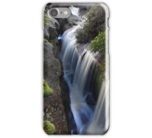 Highland gorge falls .from the top. iPhone Case/Skin