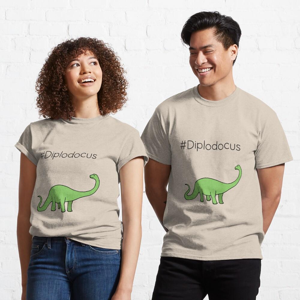 #Diplodocus - dinosaur design by Cecca Designs Classic T-Shirt