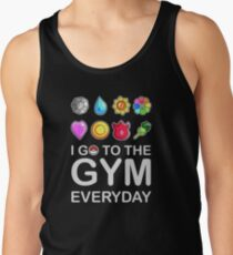I go to the GYM everyday Tank Top