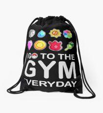 Ich gehe jeden Tag ins Fitnessstudio Turnbeutel