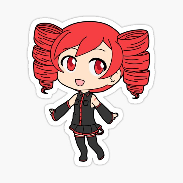 Kasane Teto Sticker