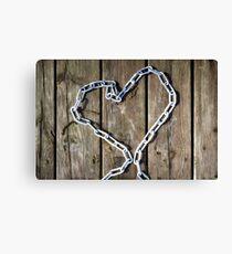 heart of steel Canvas Print