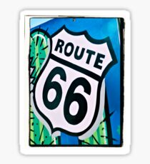 Route 66 Memories Sticker