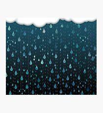 Rainy Day Print Photographic Print