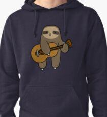 Guitar Sloth Pullover Hoodie