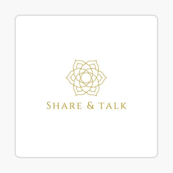 Share & Talk Sticker