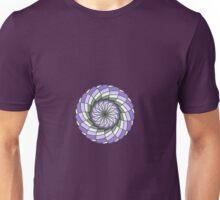 Soft Lavender Spiral Mandala Unisex T-Shirt