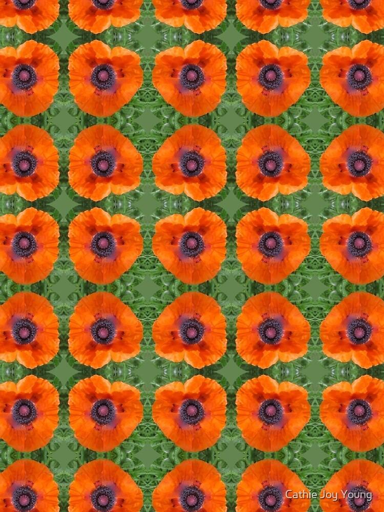 Orange Poppy by cathiejoyyoung