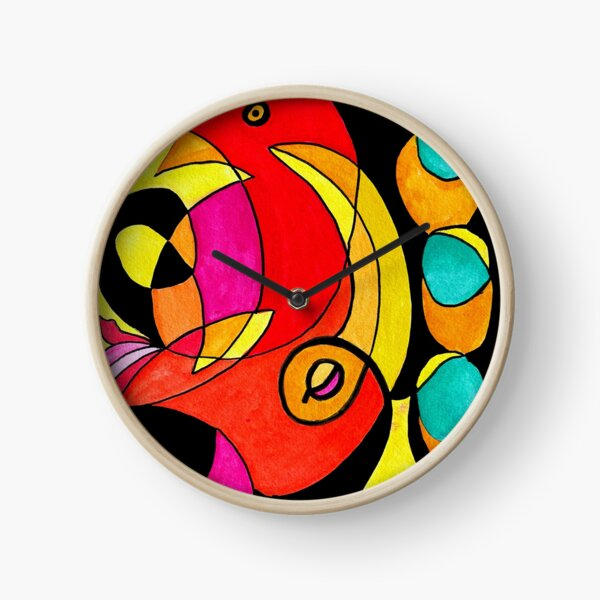 Still Streaming Consciousness Clock